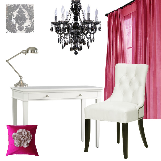 get this look chic home office chic home office office