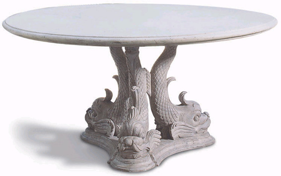 Oscar de la Renta Dolphin Table