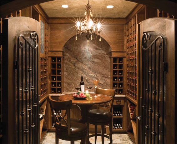 Storing wine interior design inspiration eva designs for Home wine cellar design ideas