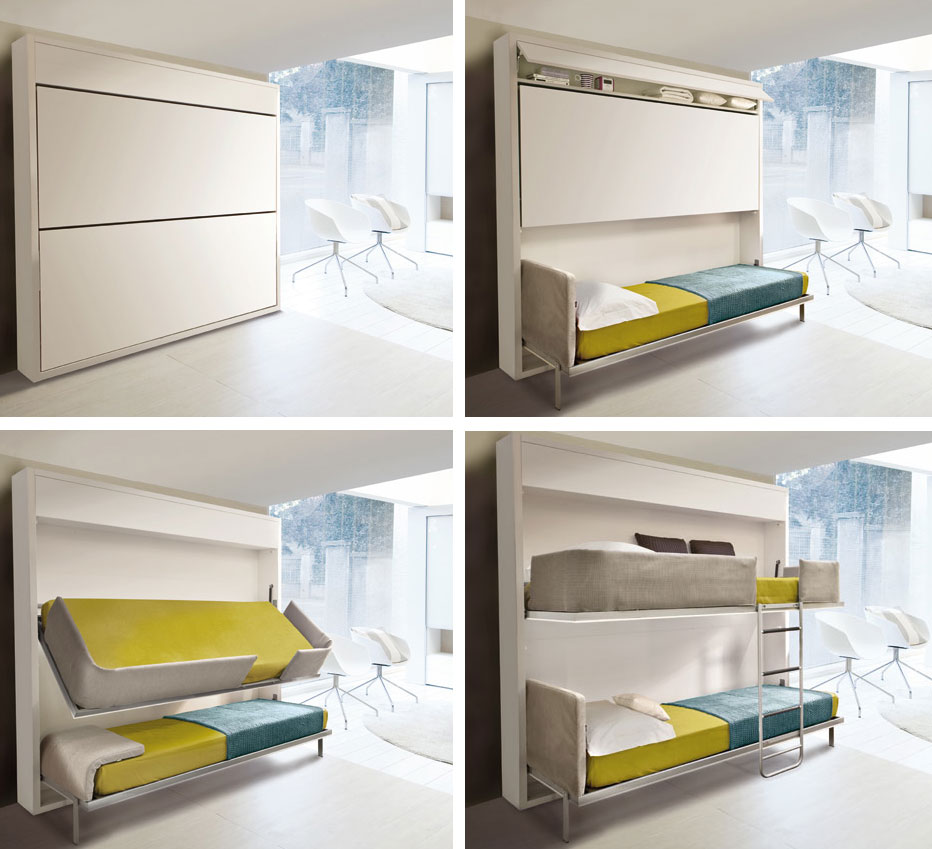 The Murphy Bed Revamped - Interior Design Inspiration ...