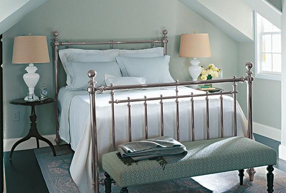 Belfort Irvington Nickel Plated Bed By Martha Stewart