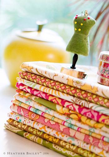 Fresh Cut Fabric by Heather Bailey