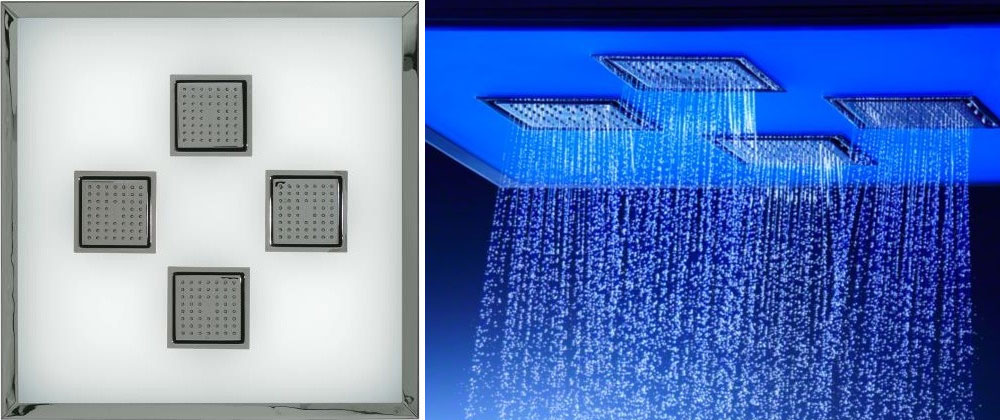 Ambient Overhead Rainshower Shower Panel by Kohler