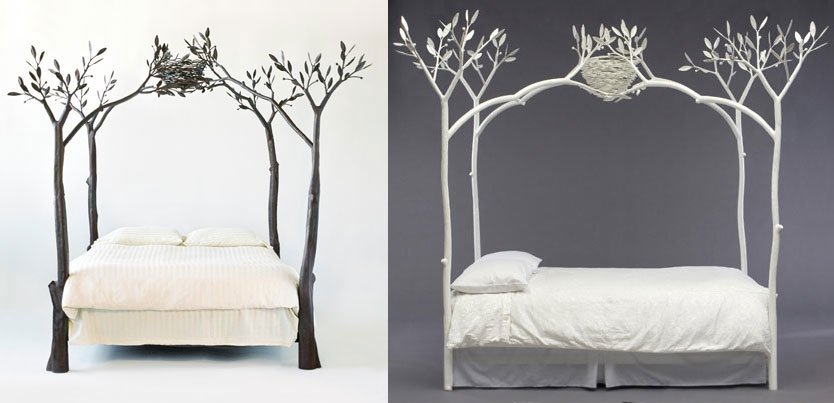 The Tree Bed Iron