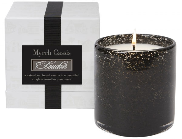 myrrh cassis budoir bedroom candle