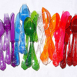 Translucent Deluxe Cutlery Colors
