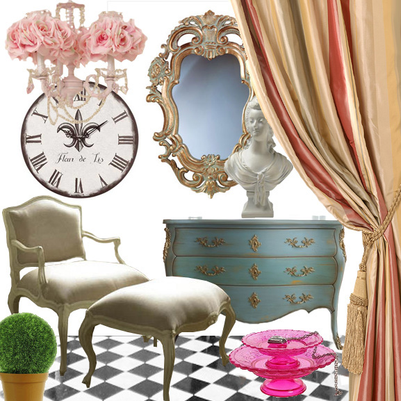 Get This Look: French Antoinette Style Rococo