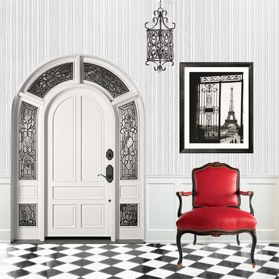 Brume Tower Foyer Locked Door : Get this look make a fabulous entrance interior design