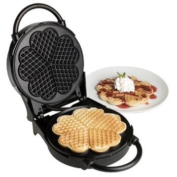 Heart-Shaped Waffle Maker