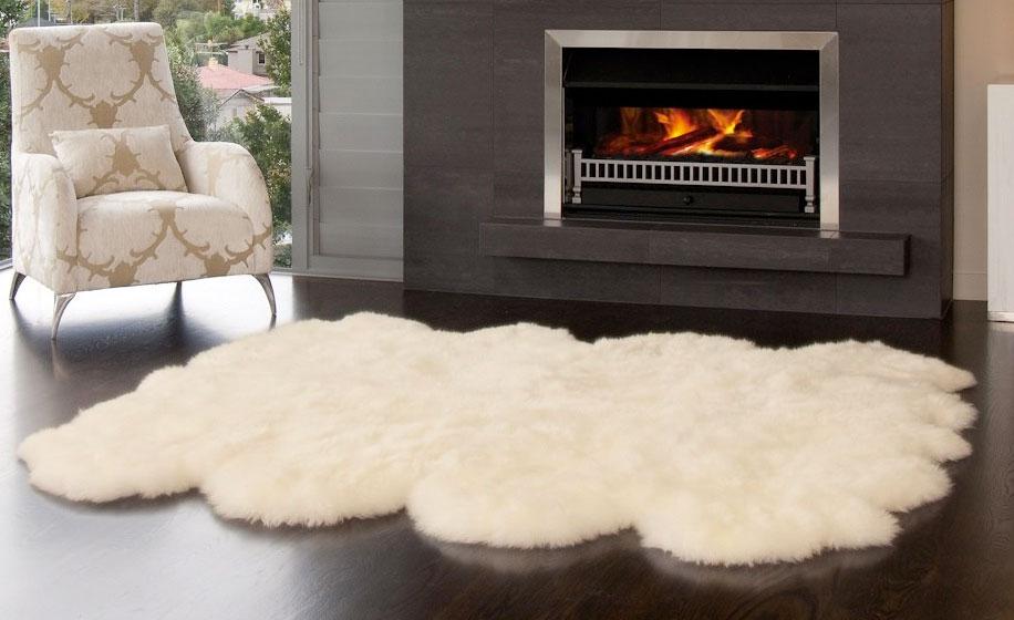 sheepskin rug