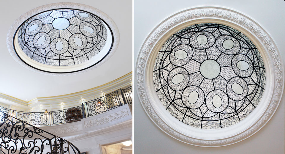 Striking Glass Domes