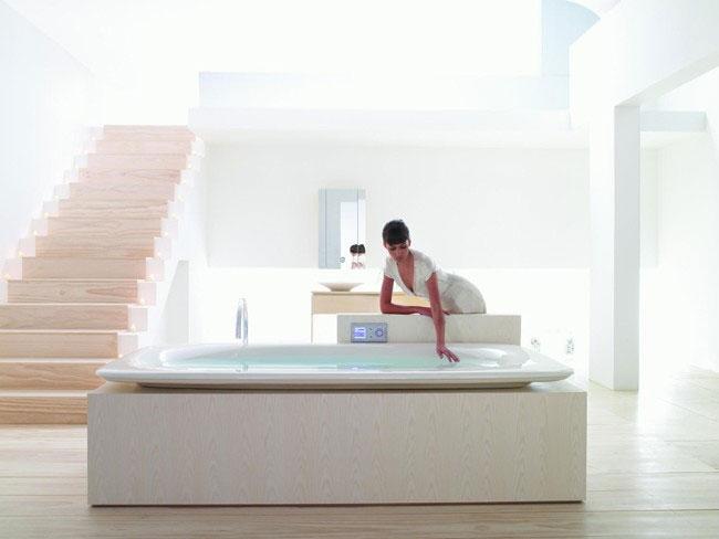 Fountainhead VibrAcoustic Bath by Kohler - Interior Design ...