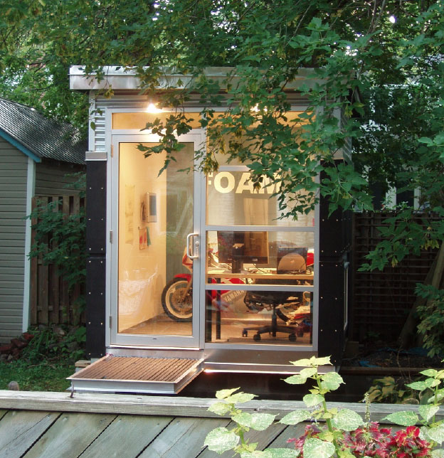 kevin deevey architect backyard studio