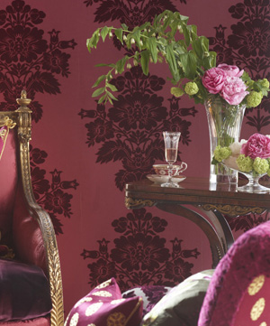wallpaper damask