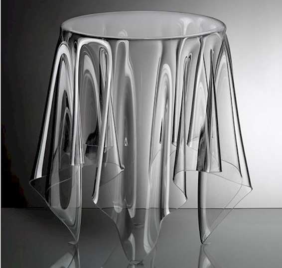 Clear Acrylic Side Table Interior Design Inspiration  : clearacrylicsidetable from www.evadesigns.com size 566 x 539 jpeg 68kB