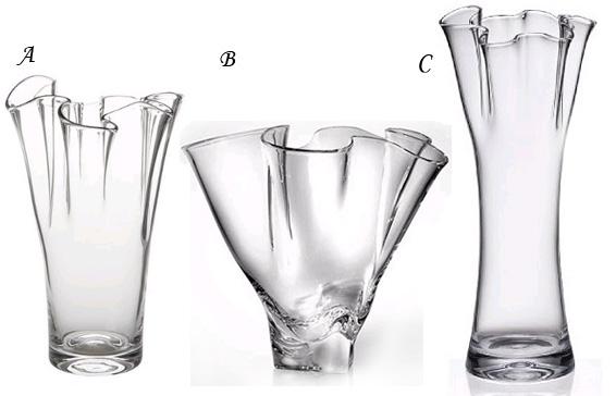 High to Low Handkerchief Vases Steuben Target