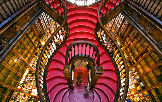 Lello Staircase grand interesting shape