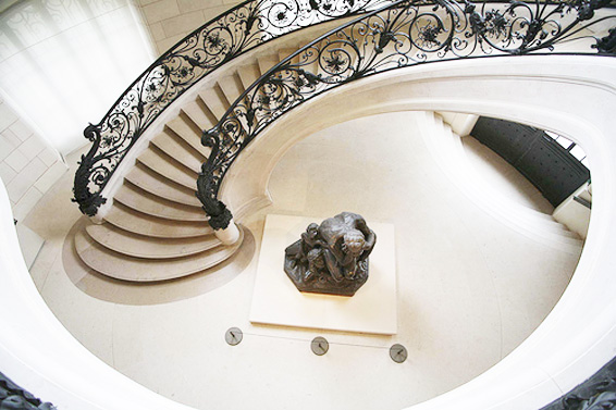 petit palais staircase bottom