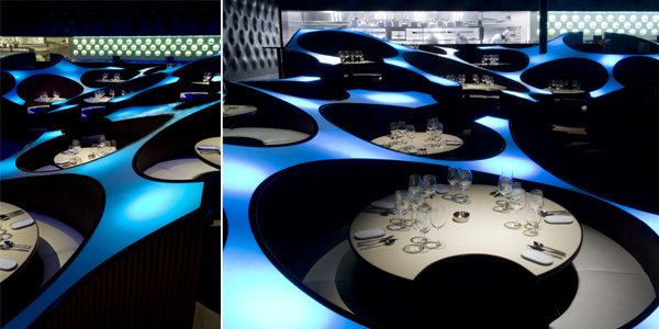 Blue Frog restaurant and bar Mumbai serif architecture