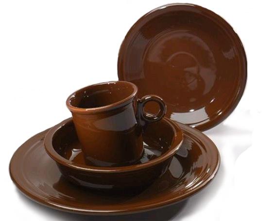 Fiesta Dinnerware Chocolate