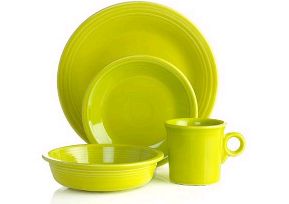 lemongrass fiesta dinnerware new color