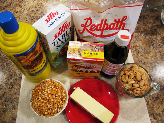 carmel Popcorn balls ingredients