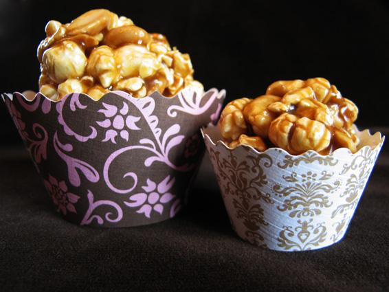 Carmel Popcorn Balls Bella Cupcake Couture