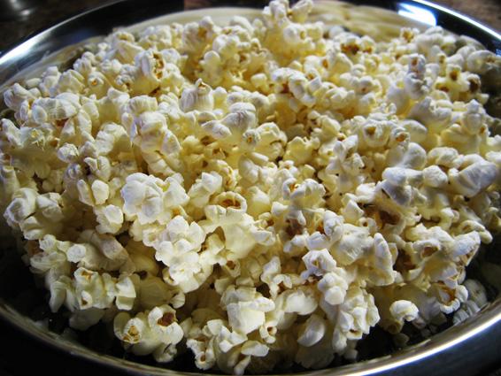 carmel popcorn balls popped kernels