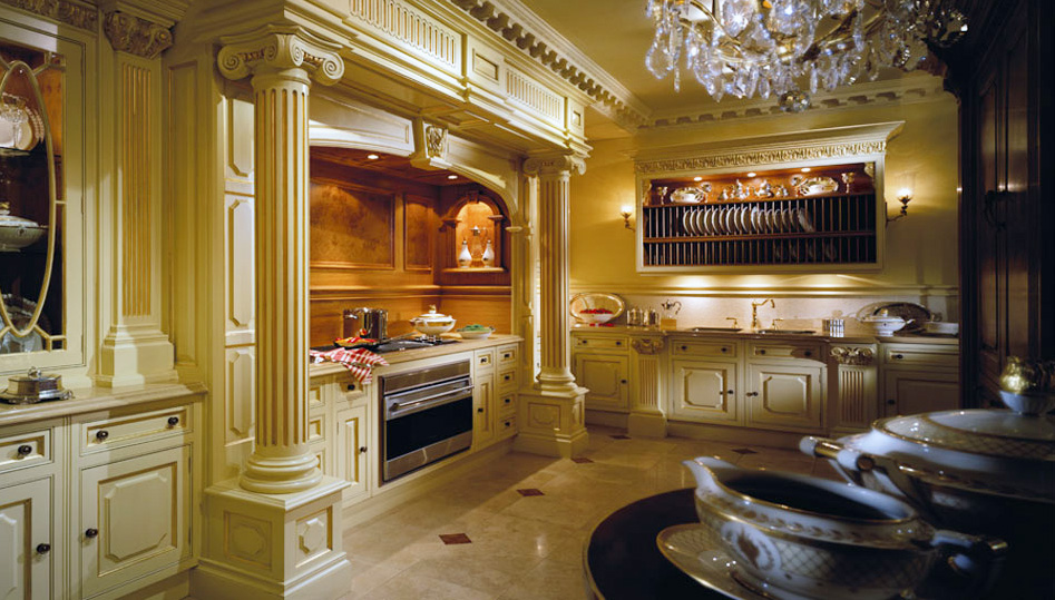 Luxury kitchens by clive christian interior design for Luxury home kitchen designs