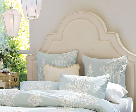 Upholstered Headboard York by Pottery Barn