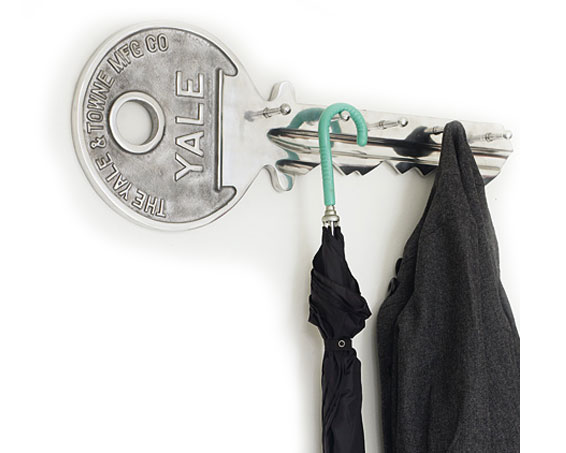 Key Coat Hook Rack Yale