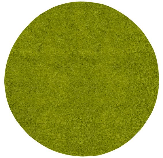 Surya Aros Lime Green circular rug
