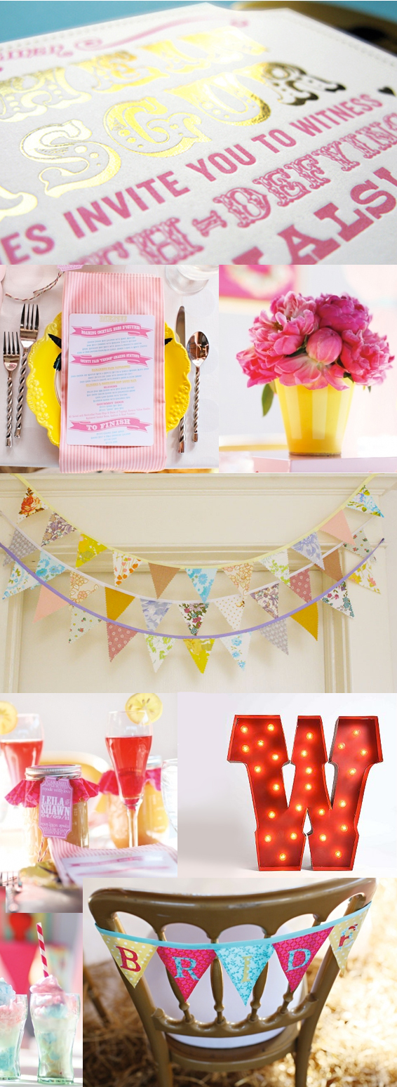 Carnival Circus Themed Party Wedding