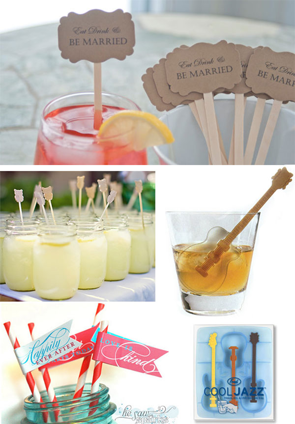 Fred's Cool Jazz Ice Stir Sticks by Bergo