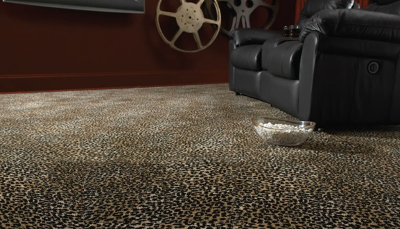 Lake Jaguar Animal Print Carpet by Stanton