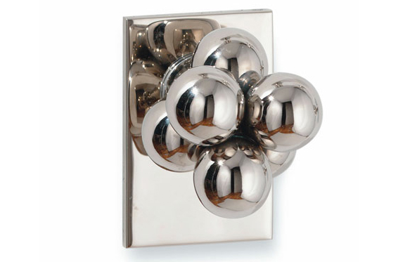 Molecule Door Knob by Sherle Williams