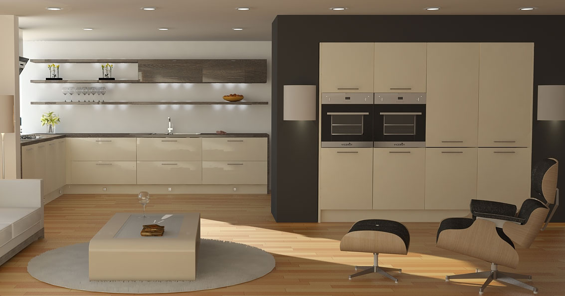 Wren Kitchens modern and sleek