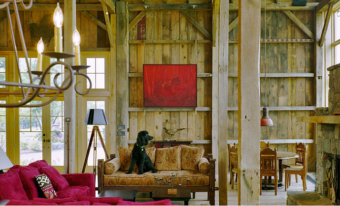 Barn Interior renovated