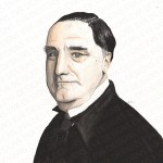 Carson Downton Abbey painting by Eva Robertson