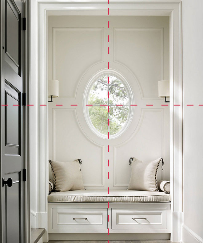 The Image Above Is A Foyer By Beth Webb Interiors. The Window Is The  Obvious Focal Point, Centered In This Space, It Creates A Perfect Pivot  Point.