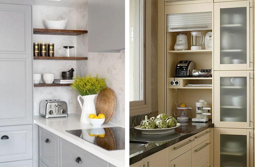 The No Corner Kitchen - Interior Design Inspiration | Eva ...